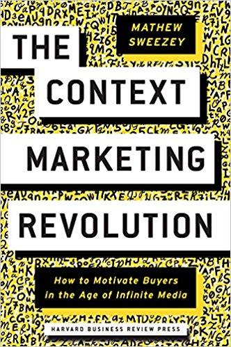 Book Cover for Context Marketing Revolution